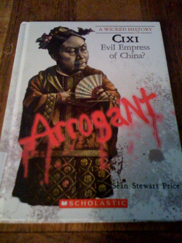 Sean Stewart Price's Cixi: Evil Empress of China? (A Wicked History)
