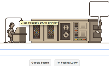 Google Doodle Honors Grace Hopper, Early Computer Scientist