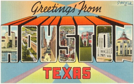 Flickr CC| Greetings from Houston, TX | Photo By: Boston Public Library